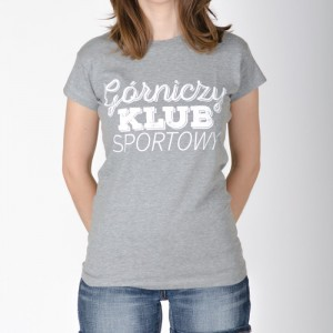 koszulka-damska-szara-gorniczy-klub-sportowy