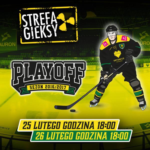 Hokej - Strefa GieKSy na play off z GKS Tychy